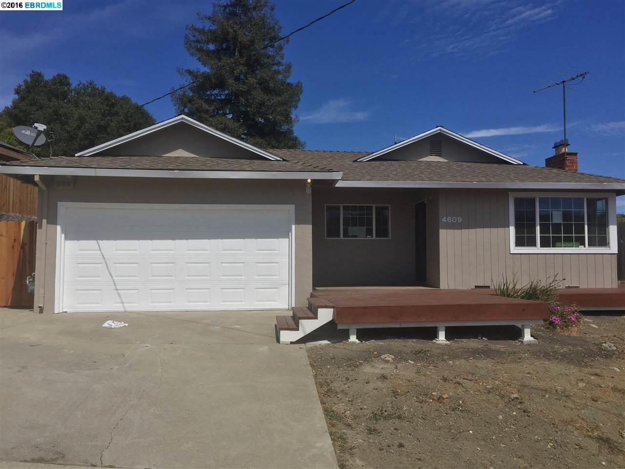 4609 ROBERT WAY, RICHMOND, CA 94803