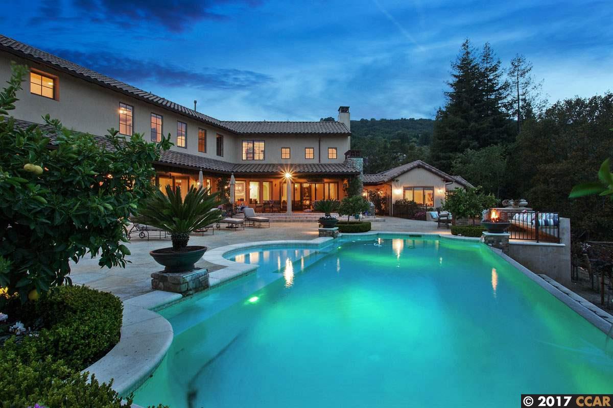 獨棟家庭住宅 為 出售 在 16 Sky Terrace Danville, 加利福尼亞州 94526 美國