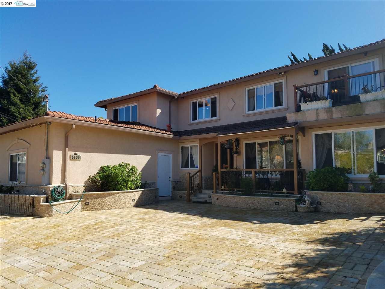 Single Family Home for Sale at 5035 Foxboro Drive Castro Valley, California 94546 United States
