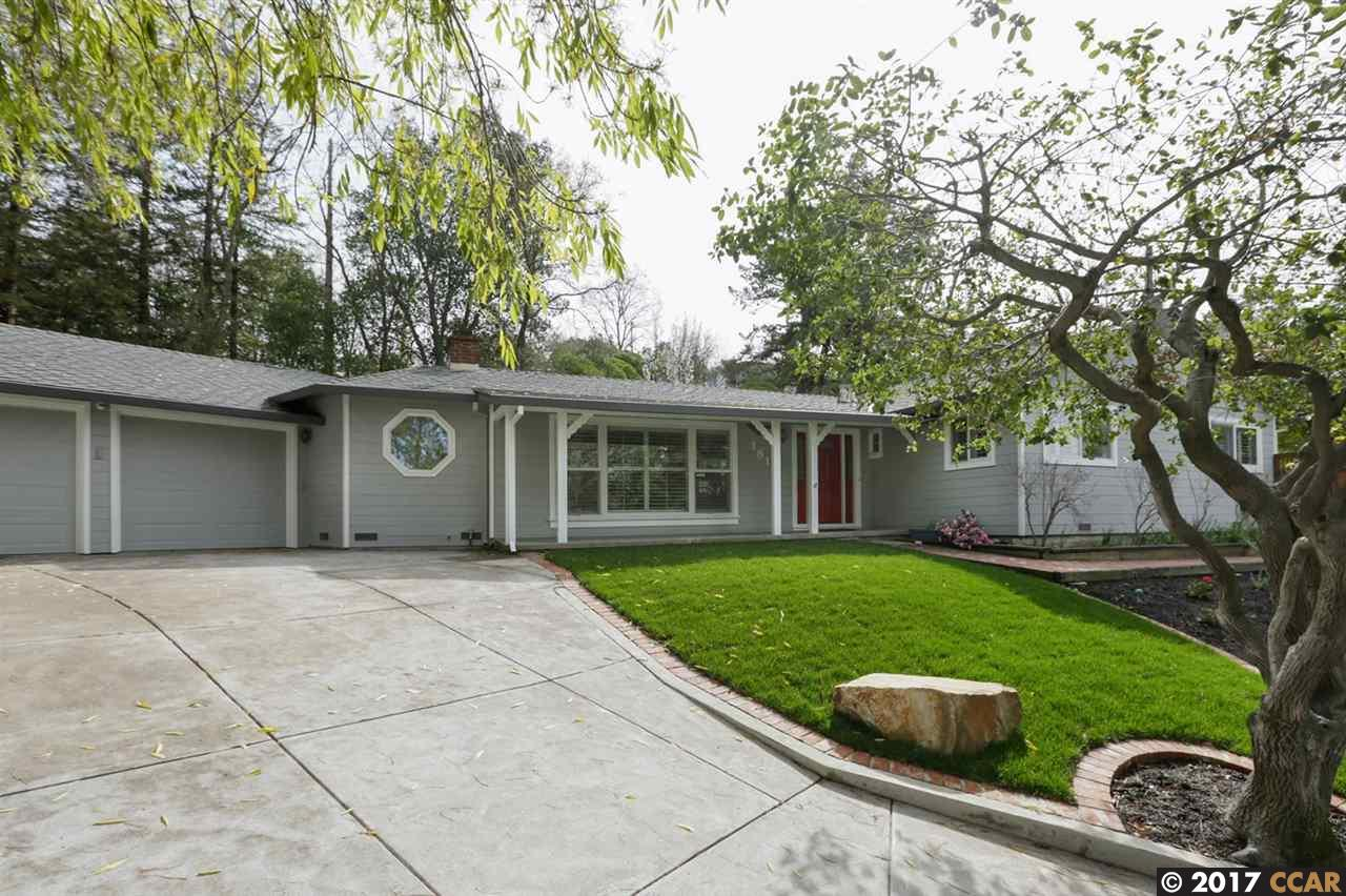 Частный односемейный дом для того Продажа на 181 Andrea Drive Walnut Creek, Калифорния 94596 Соединенные Штаты