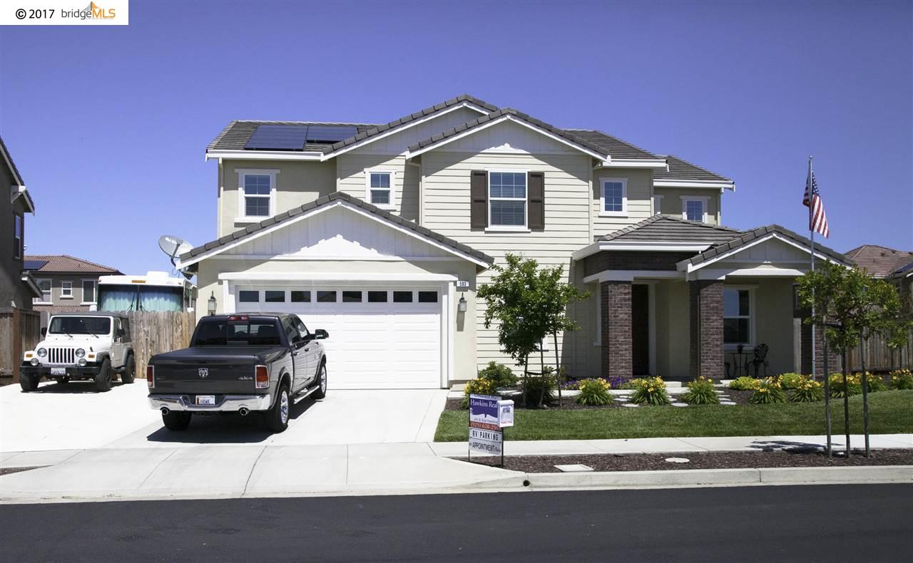 Maison unifamiliale pour l Vente à 593 Plymouth Court Brentwood, Californie 94513 États-Unis