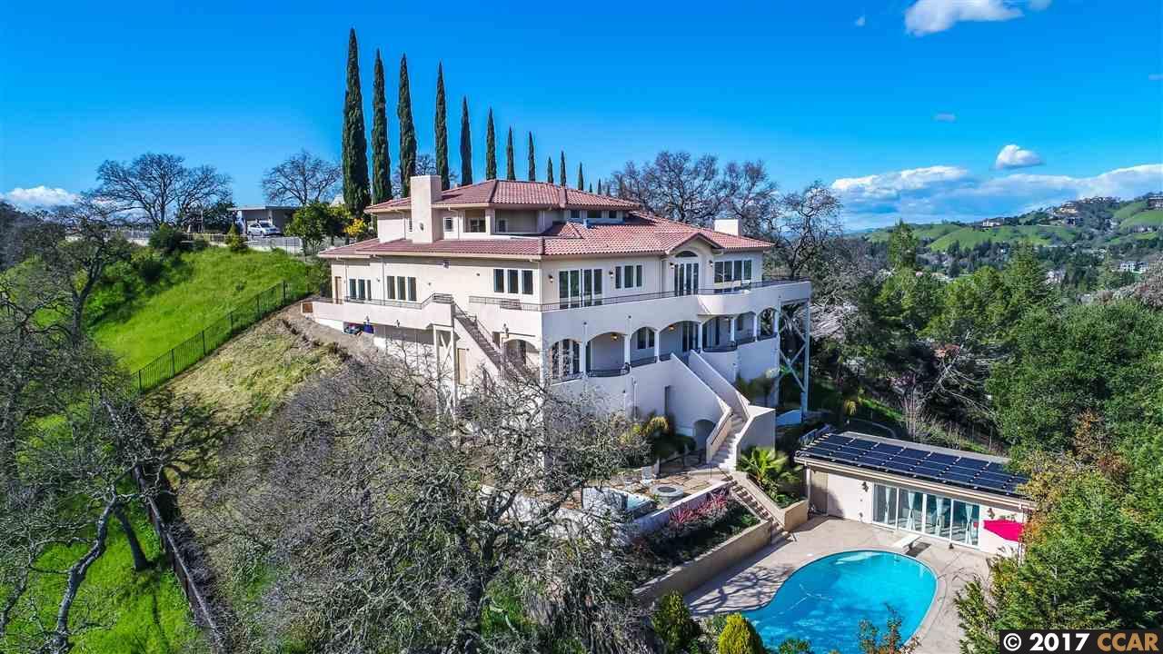 Частный односемейный дом для того Продажа на 41 Hagen Oaks Court Alamo, Калифорния 94507 Соединенные Штаты
