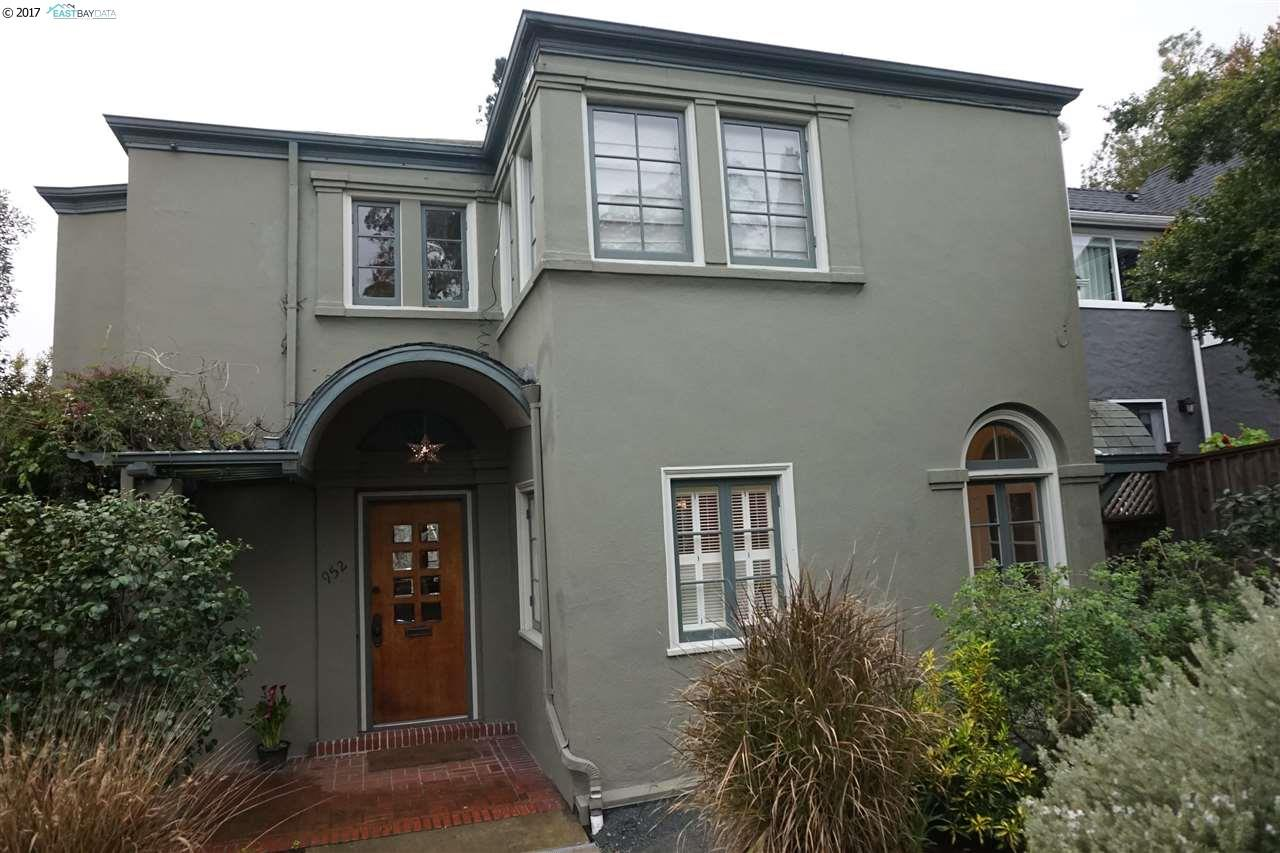 952 Arlington Ave, BERKELEY, CA 94707