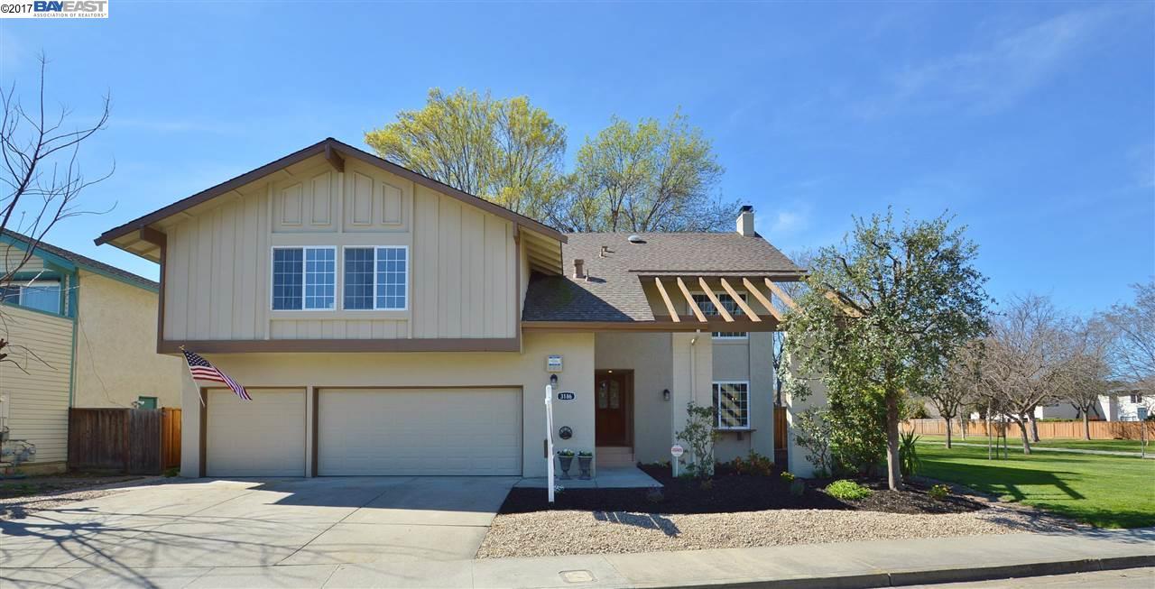 Single Family Home for Sale at 3186 Gulfstream Street Pleasanton, California 94588 United States