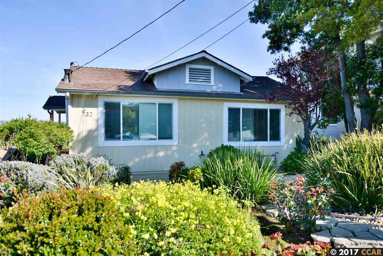 一戸建て のために 売買 アット 732 Edwards Street Crockett, カリフォルニア 94525 アメリカ合衆国