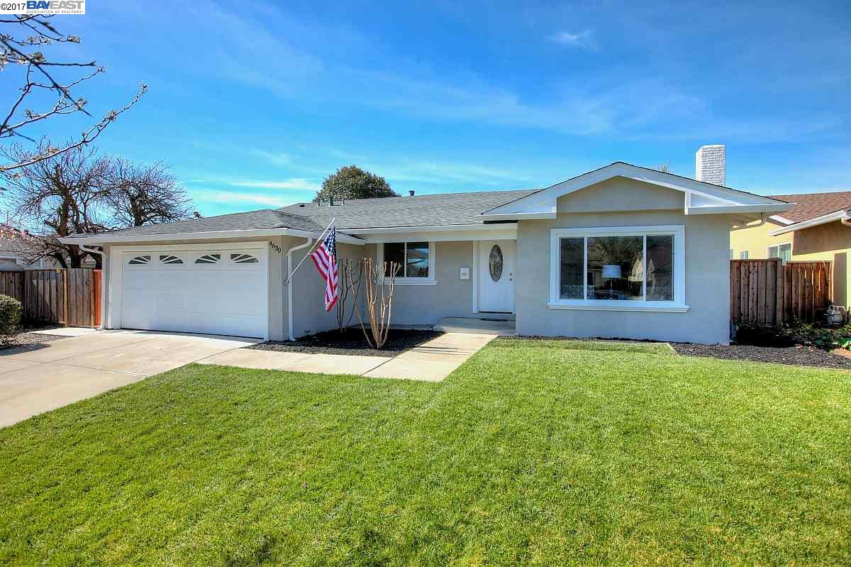 Single Family Home for Sale at 4630 Denker Drive Pleasanton, California 94588 United States