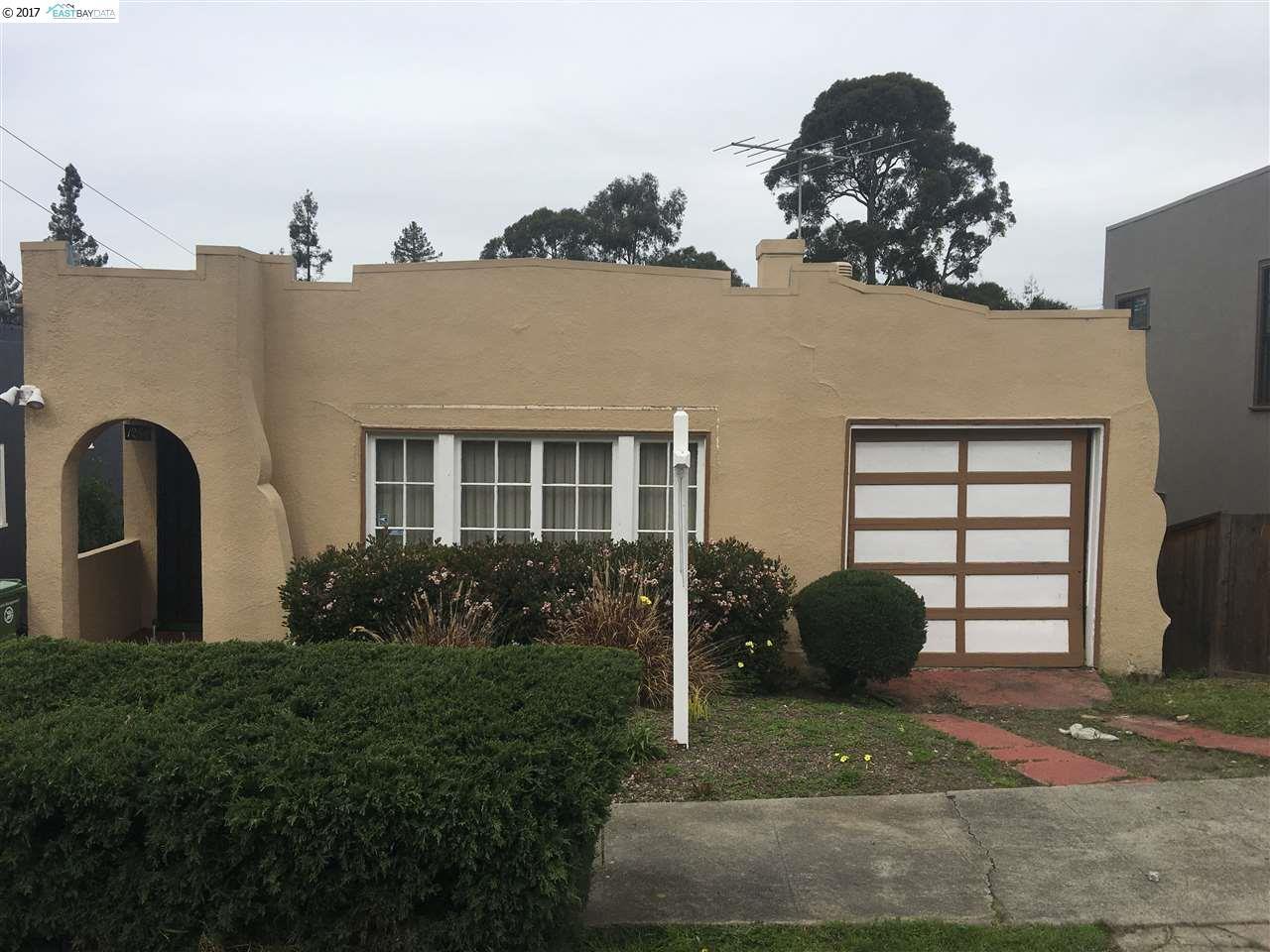 1284 Bates Road, OAKLAND, CA 94610