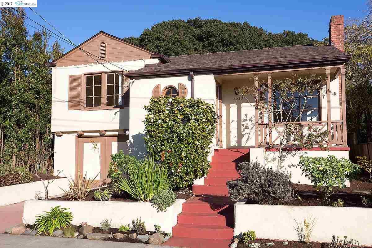 一戸建て のために 売買 アット 1037 Ventura Avenue Albany, カリフォルニア 94706 アメリカ合衆国