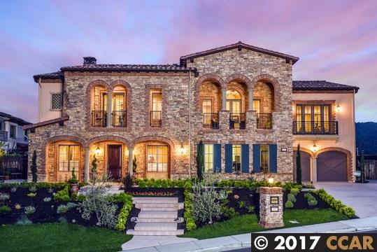 Частный односемейный дом для того Продажа на 117 Alamo Springs Drive Alamo, Калифорния 94507 Соединенные Штаты