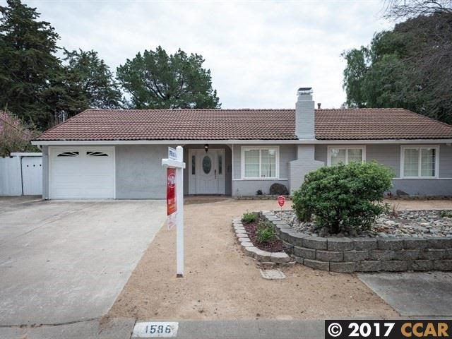 1586 Placer Dr, CONCORD, 94521, CA
