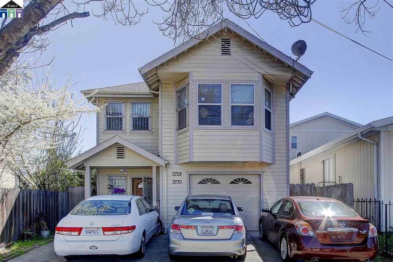 Multi-Family Home for Sale at 2728 35Th Avenue Oakland, California 94619 United States