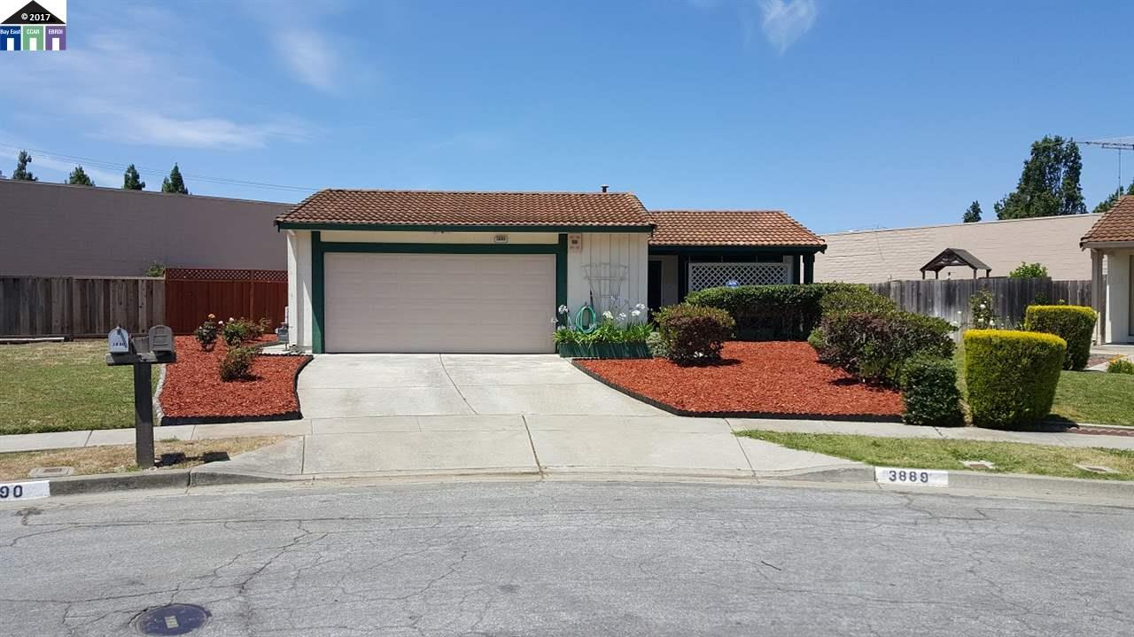 3889 GREAT SALT LAKE CT | FREMONT |  | 94555