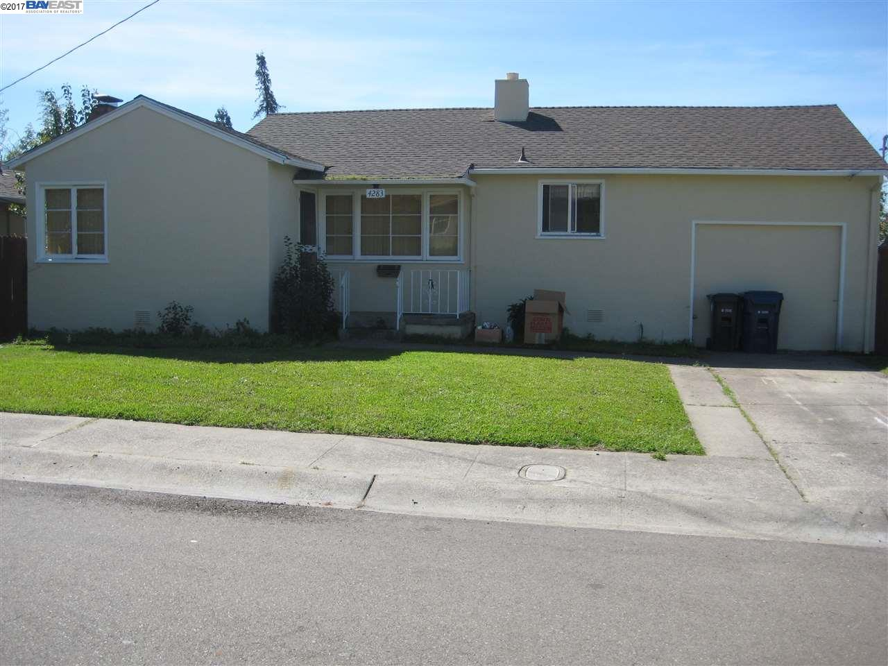 Single Family Home for Sale at 4283 Omega Avenue Castro Valley, California 94546 United States