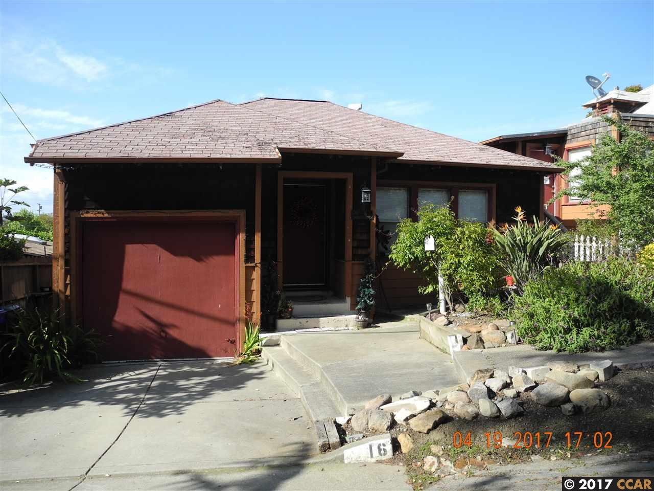 Single Family Home for Sale at 10 Baldwin Avenue 10 Baldwin Avenue Crockett, California 94525 United States