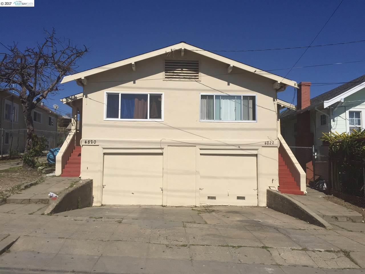 Multi-Family Home for Sale at 4816 Melrose Avenue Oakland, California 94601 United States
