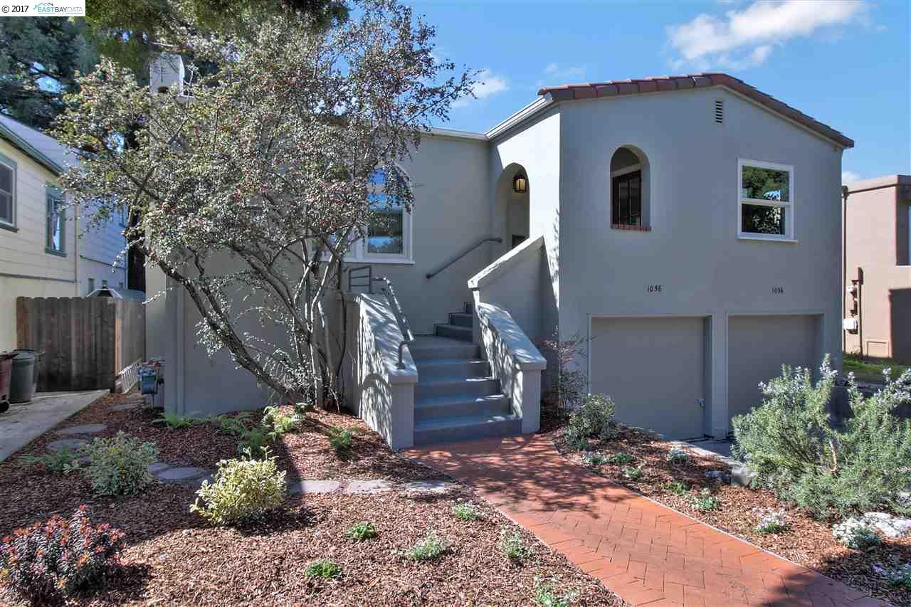 二世帯住宅 のために 売買 アット 1058 Masonic Avenue Albany, カリフォルニア 94706 アメリカ合衆国