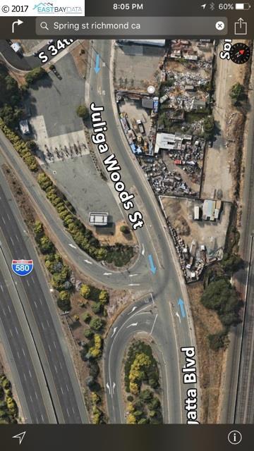 土地 のために 売買 アット Juliga Woods Street Richmond, カリフォルニア 94804 アメリカ合衆国