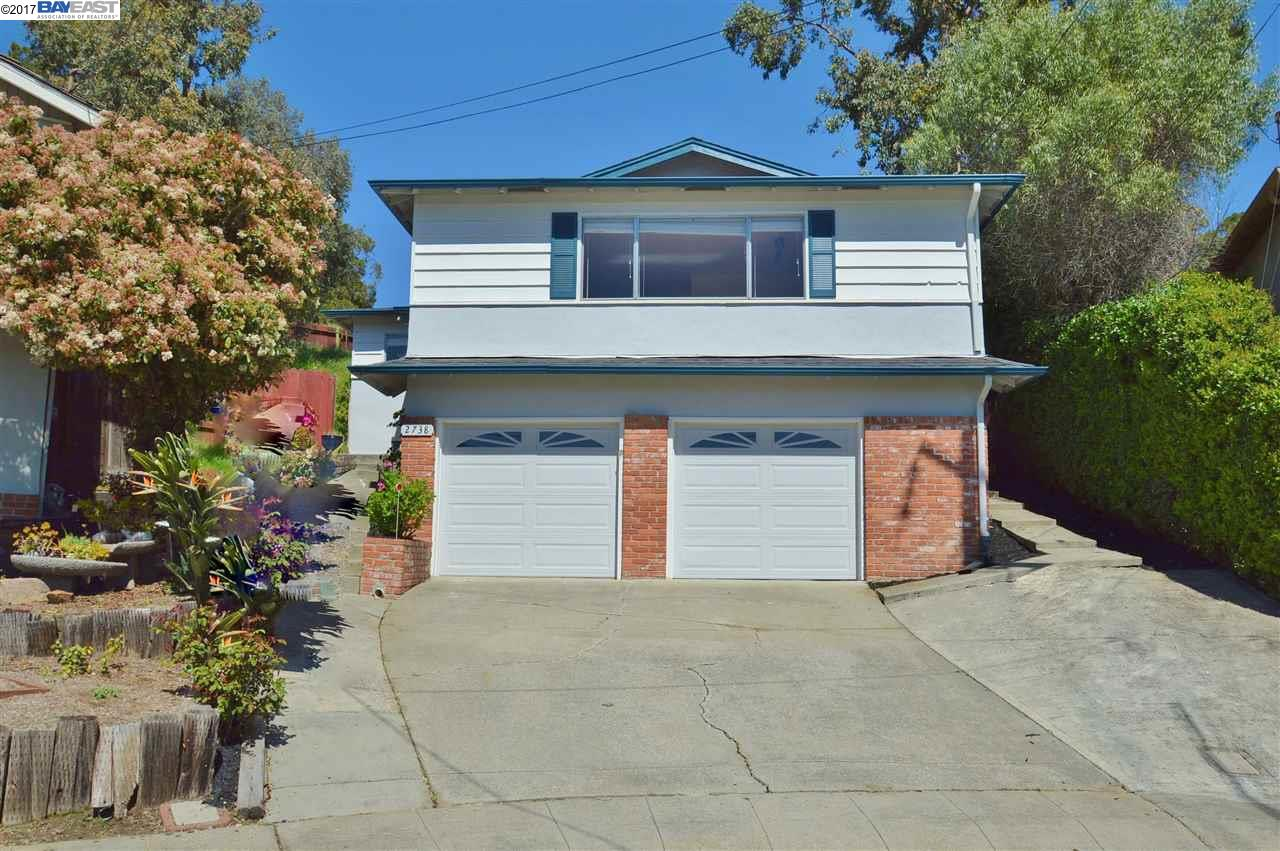Single Family Home for Sale at 2738 Darlene Court Castro Valley, California 94546 United States