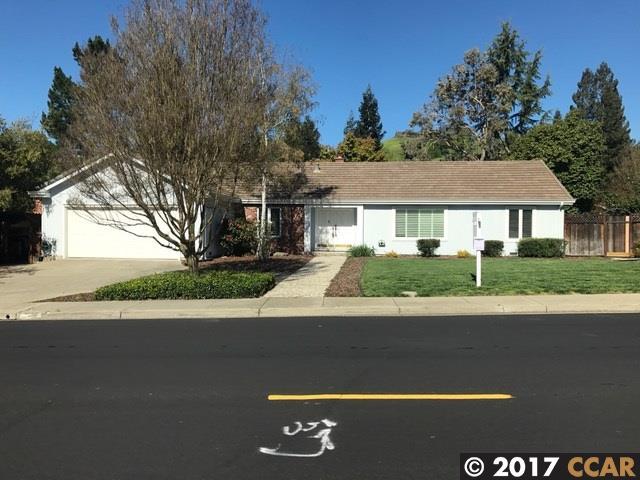 Частный односемейный дом для того Аренда на 3224 Stone Valley Road Alamo, Калифорния 94507 Соединенные Штаты