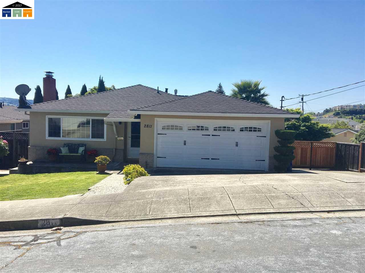 Single Family Home for Sale at 2811 Chloe Court Castro Valley, California 94546 United States
