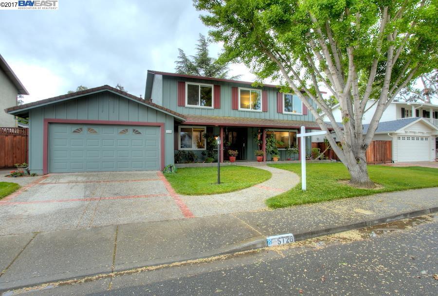 Single Family Home for Sale at 5126 Hummingbird Road Pleasanton, California 94566 United States