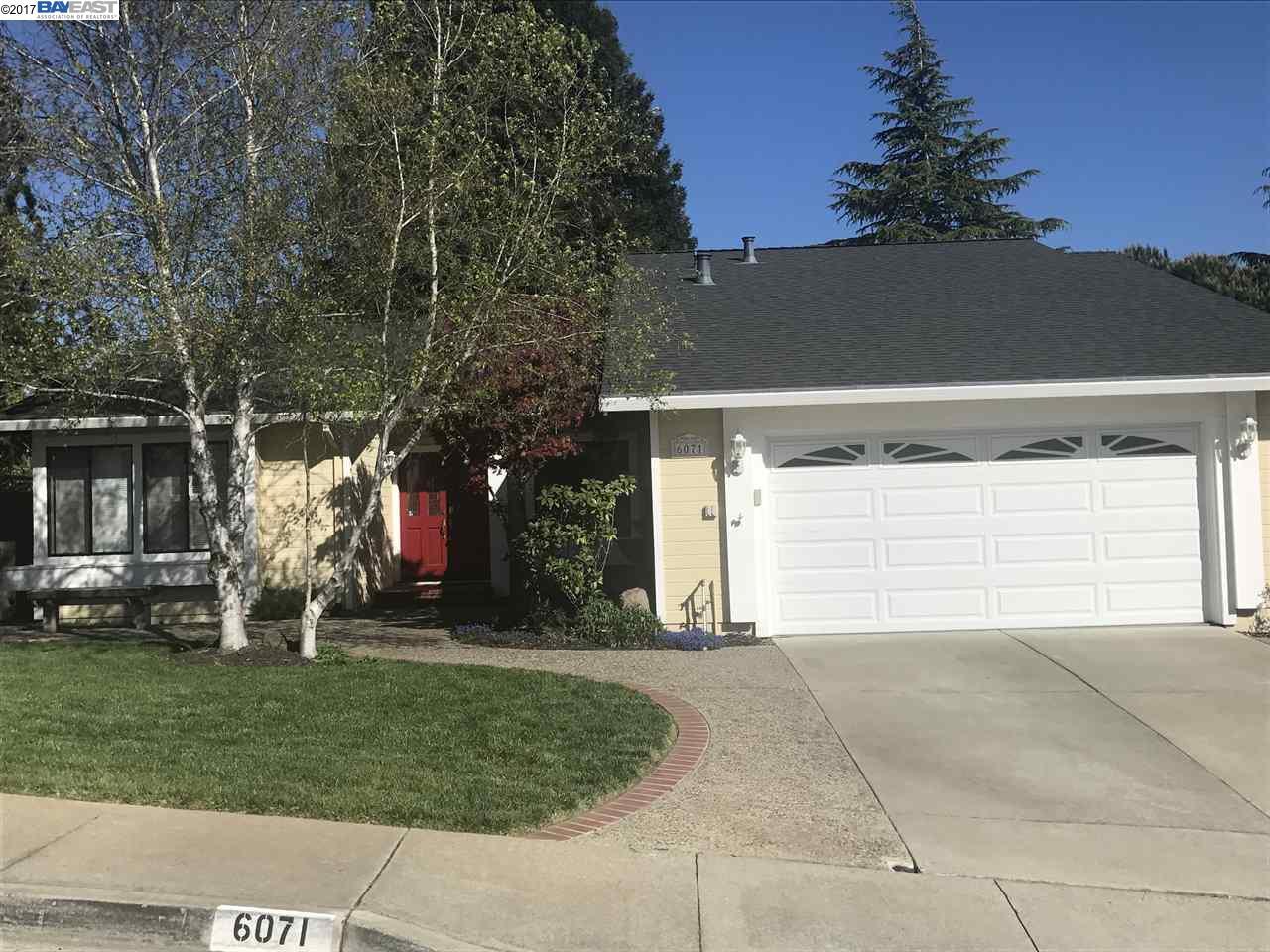 Single Family Home for Sale at 6071 Skyfarm Drive Castro Valley, California 94552 United States