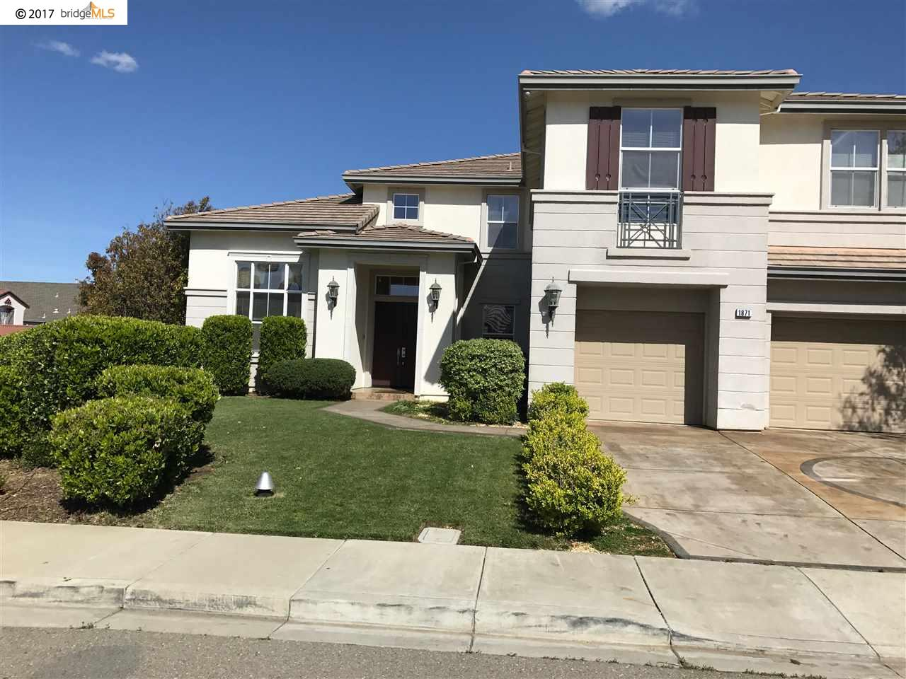Maison unifamiliale pour l Vente à 1871 Table Mountain Court Antioch, Californie 94531 États-Unis