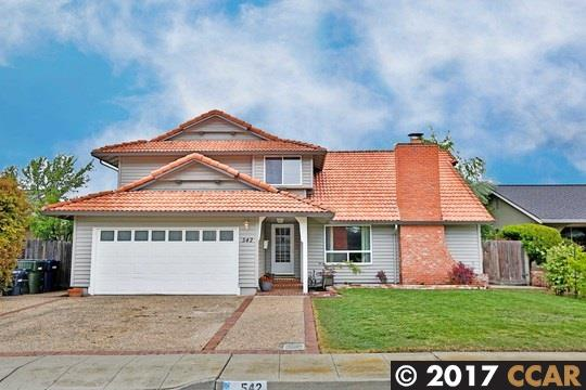 542 Brookfield Dr | LIVERMORE | 1775 | 94551