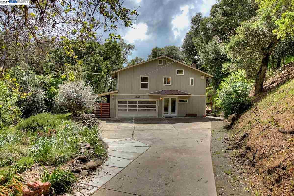 Maison unifamiliale pour l Vente à 822 Kilkare Road Sunol, Californie 94586 États-Unis
