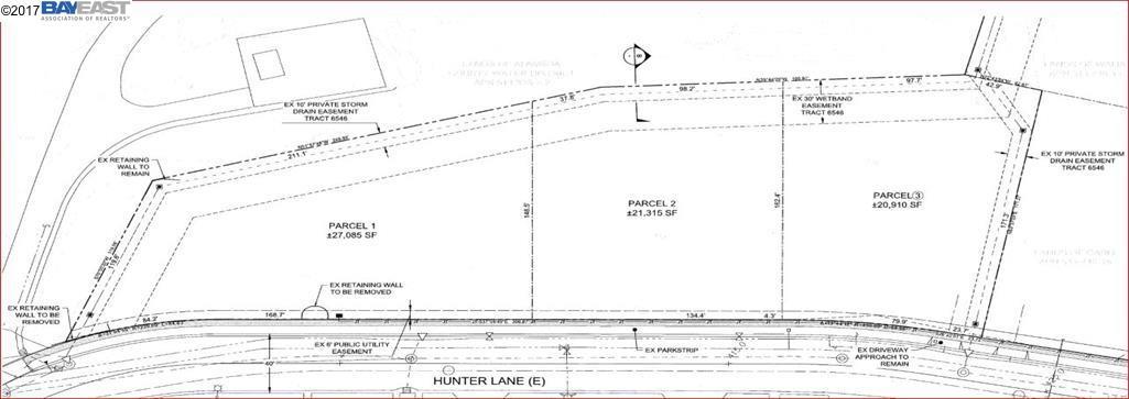 土地 のために 売買 アット 822-3 Hunter Lane Fremont, カリフォルニア 94539 アメリカ合衆国