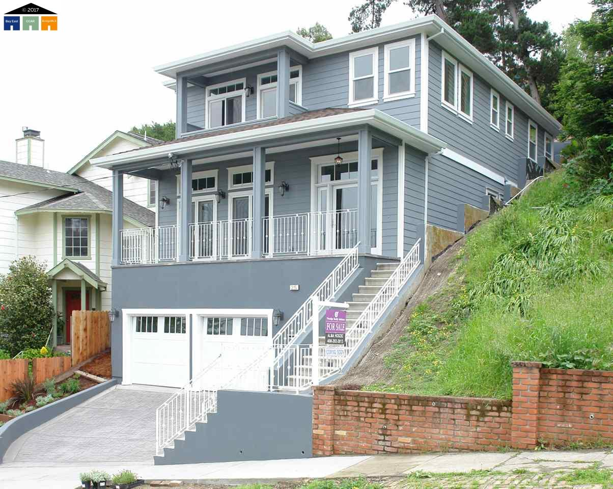Casa Unifamiliar por un Venta en 25 Montana Street Point Richmond, California 94801 Estados Unidos
