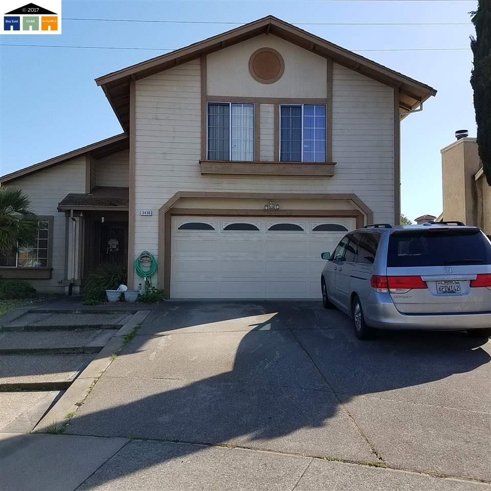 Single Family Home for Sale at 3430 Chandler Circle Bay Point, California 94565 United States
