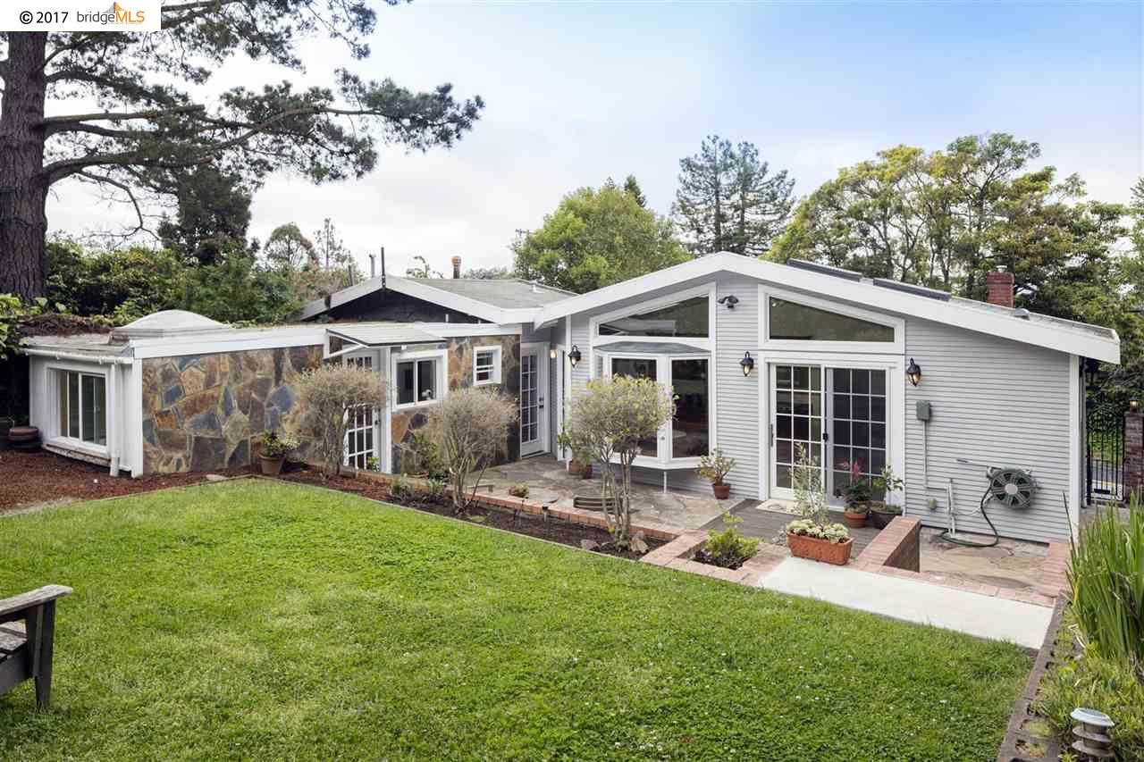 獨棟家庭住宅 為 出售 在 243 Colusa Avenue Kensington, 加利福尼亞州 94707 美國