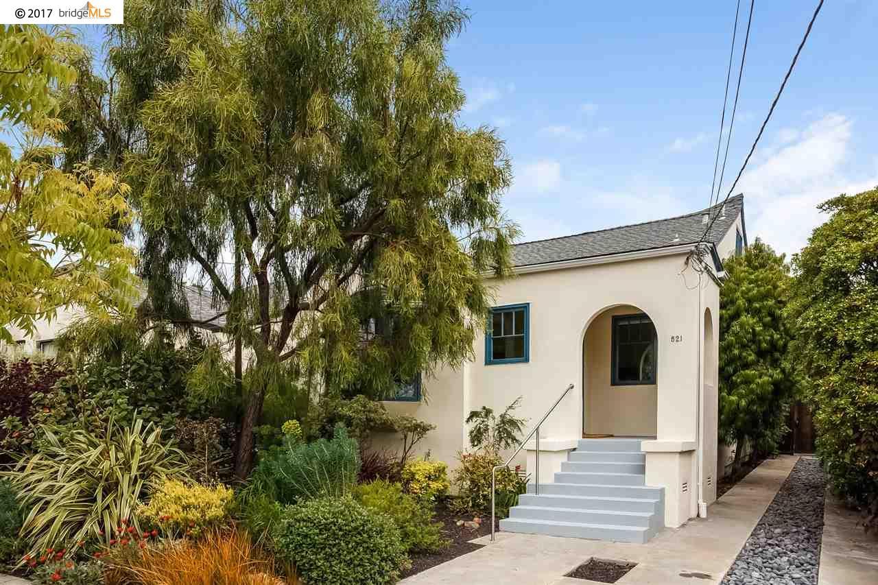 Casa Unifamiliar por un Venta en 521 Santa Fe Avenue Albany, California 94706 Estados Unidos