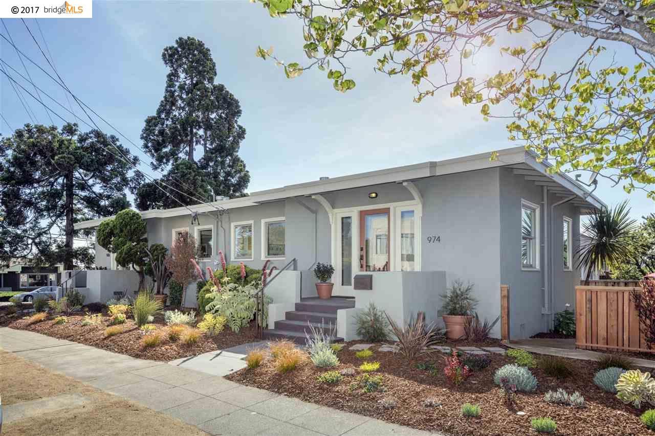 Maison unifamiliale pour l Vente à 976 Neilson Albany, Californie 94706 États-Unis