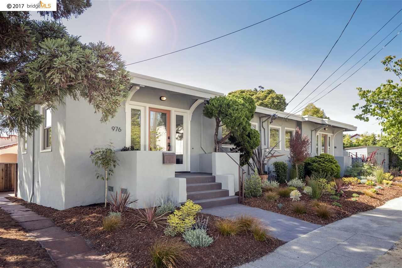 Casa Multifamiliar por un Venta en 974 Neilson Street Albany, California 94706 Estados Unidos