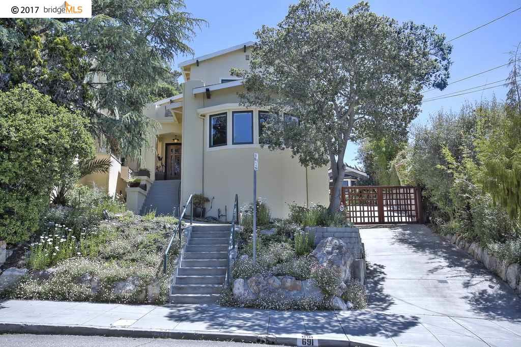 691 Vincente Ave, BERKELEY, CA 94707