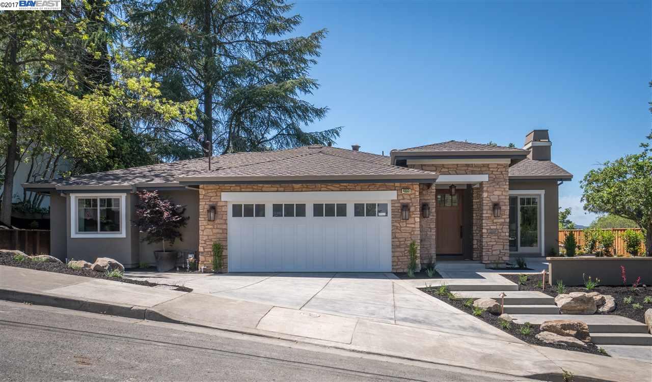 Single Family Home for Sale at 4553 Las Lomitas Drive Pleasanton, California 94566 United States
