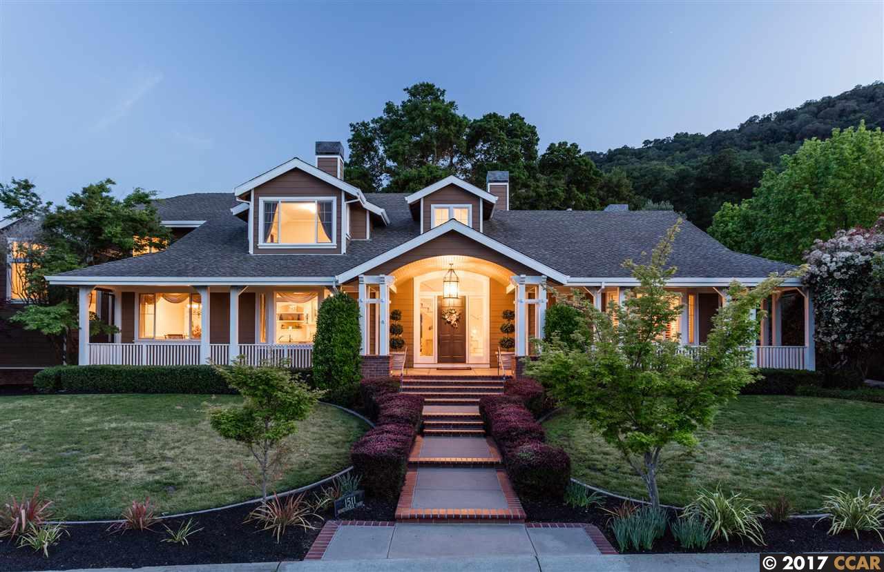 獨棟家庭住宅 為 出售 在 1511 Honey Suckle Court Pleasanton, 加利福尼亞州 94588 美國