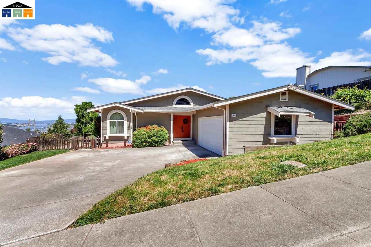 獨棟家庭住宅 為 出售 在 91 Rolph Park Drive Crockett, 加利福尼亞州 94525 美國
