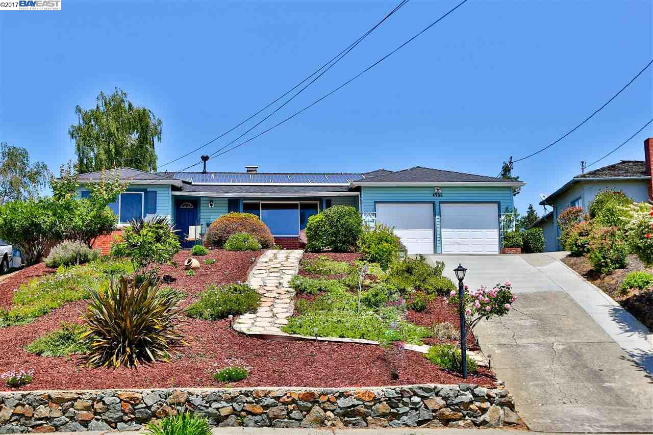 Single Family Home for Sale at 4966 Elrod Drive Castro Valley, California 94546 United States
