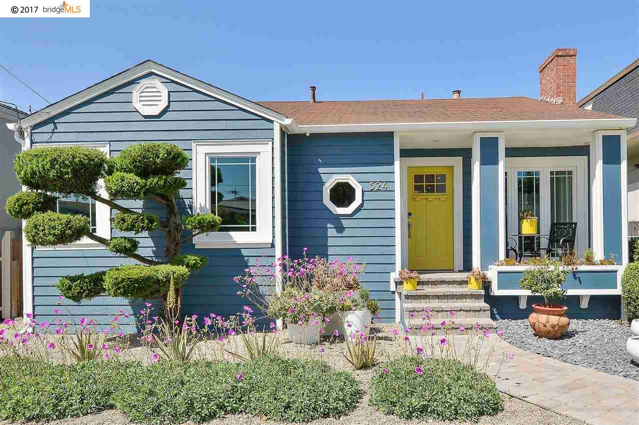 Maison unifamiliale pour l Vente à 524 Kains Avenue Albany, Californie 94706 États-Unis