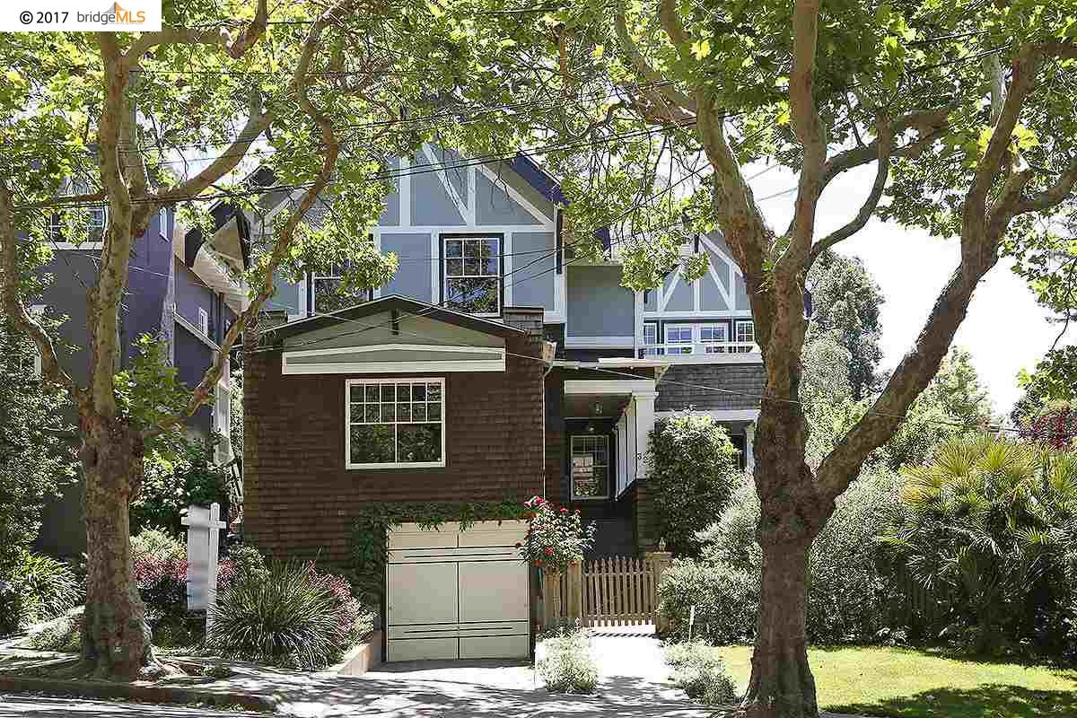 Single Family Home for Sale at 322 BLAIR AVENUE Piedmont, California 94610 United States