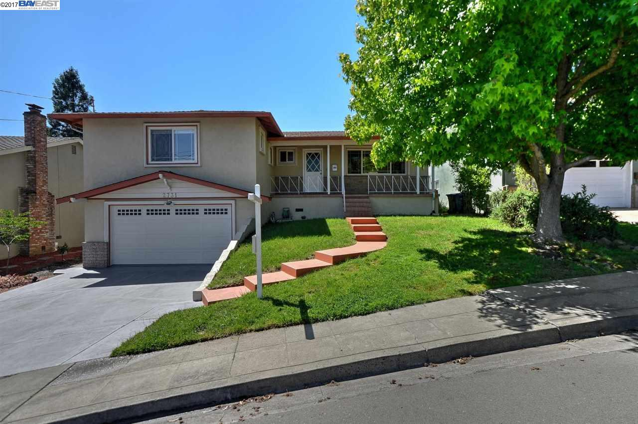 Single Family Home for Sale at 2731 Barlow Drive Castro Valley, California 94546 United States