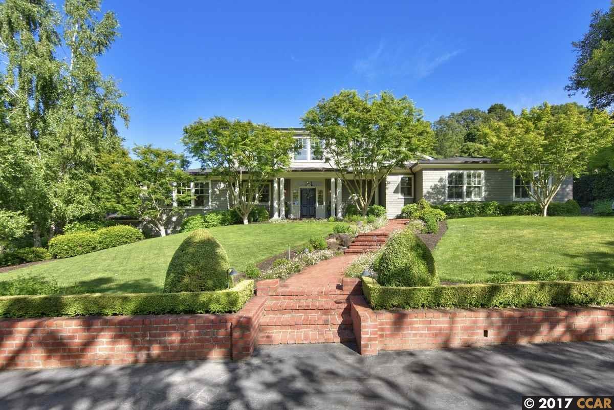 واحد منزل الأسرة للـ Rent في 7 Sycamore Road Orinda, California 94563 United States