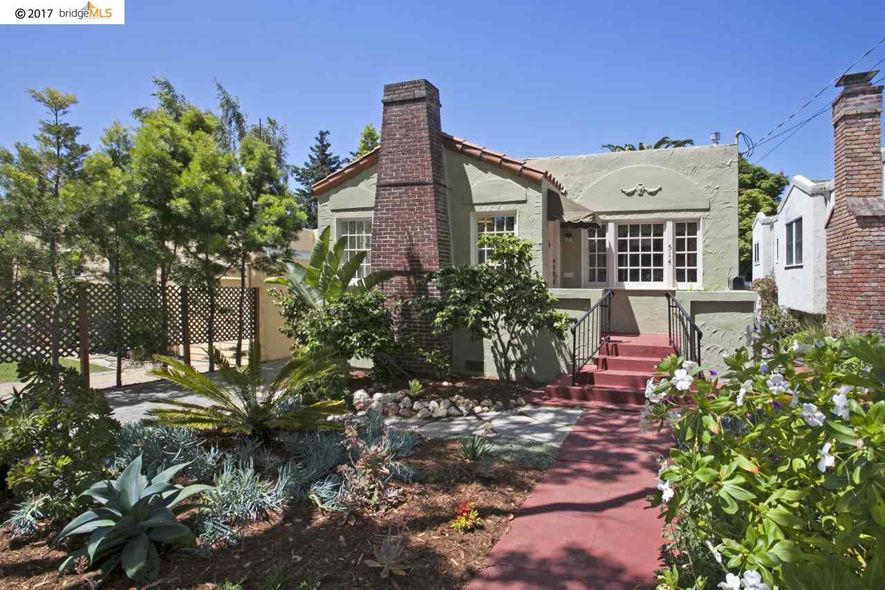 Casa Unifamiliar por un Venta en 514 Curtis Street Albany, California 94706 Estados Unidos
