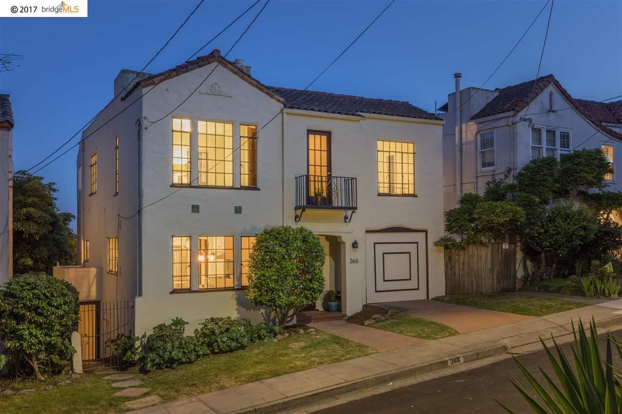 Casa Unifamiliar por un Venta en 366 Ocean View Avenue Kensington, California 94707 Estados Unidos