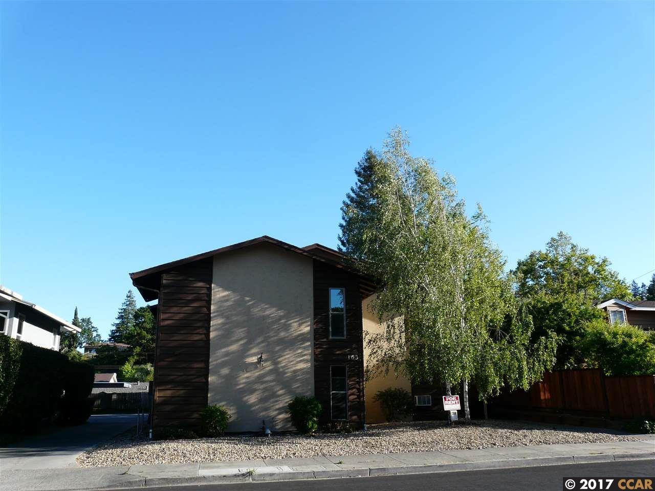 コンドミニアム のために 賃貸 アット 163 Virginia Hills Drive Martinez, カリフォルニア 94553 アメリカ合衆国