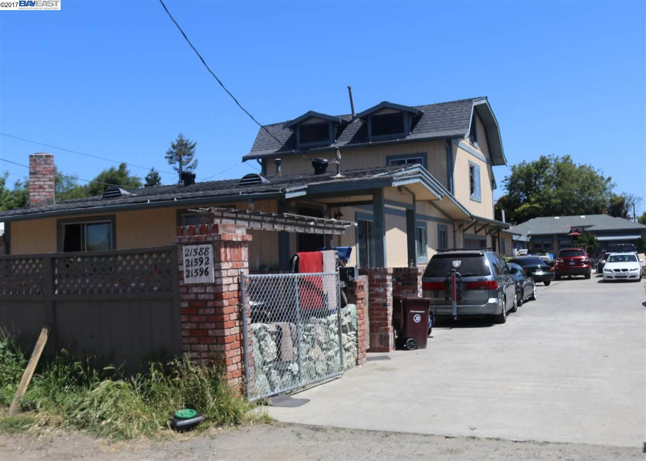 Multi-Family Home for Sale at 21588 Banyan Street Hayward, California 94541 United States
