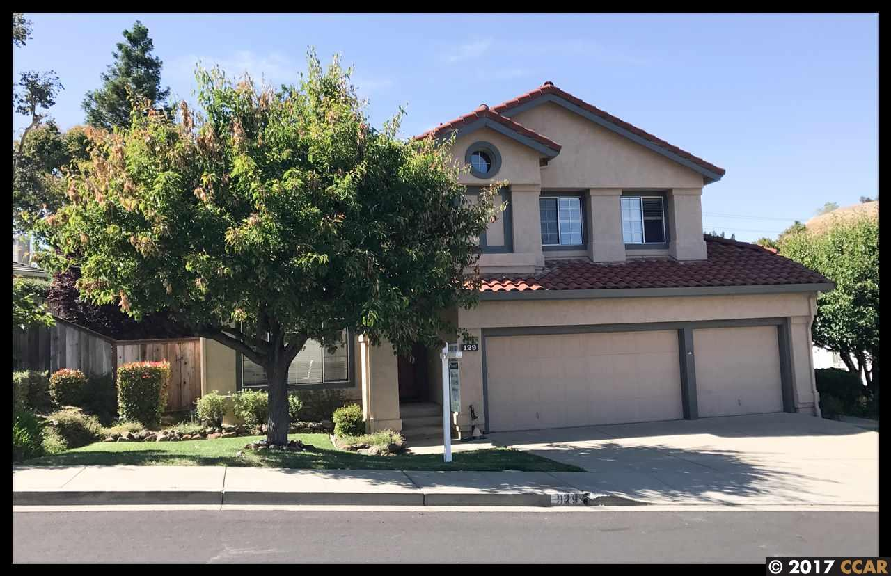 Single Family Home for Sale at 129 Glenview Drive Martinez, California 94553 United States
